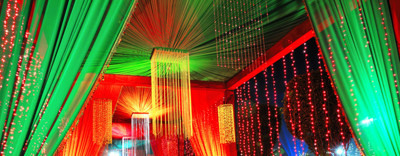 Passage decoration wedding junglespirit Gallery
